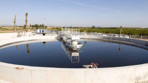 Planta de tratamiento de aguas industriales
