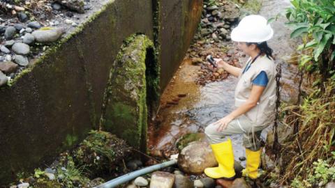 Tres tipos de aguas residuales