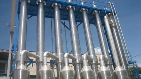 Evaporadores al vacío para tratar aguas residuales industriales