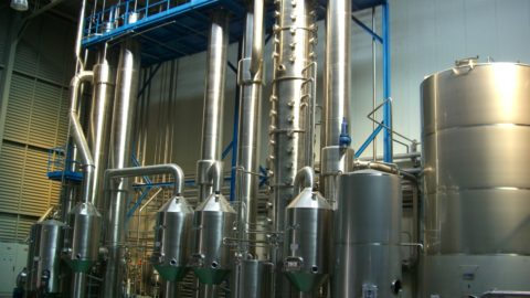 Descripción del proceso de evaporación al vacío