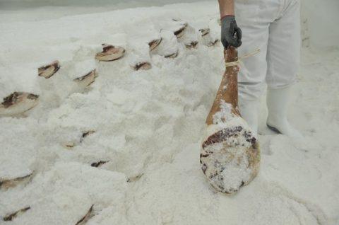Tratamiento de aguas residuales en lavado y desalado de jamones